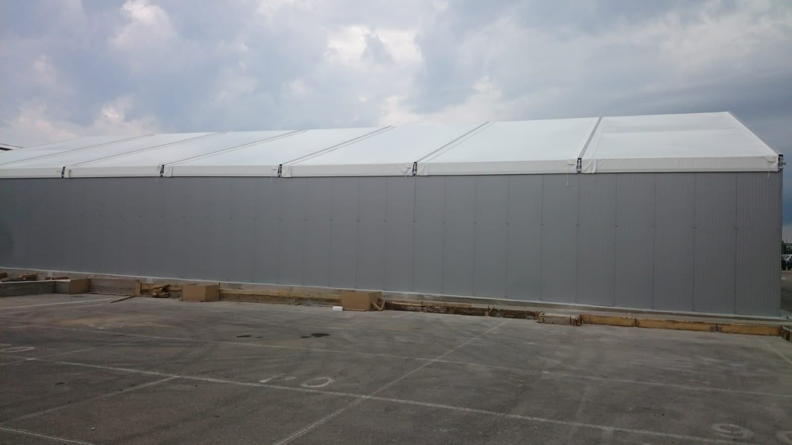 carpa de 20 industrail panel y lona 9