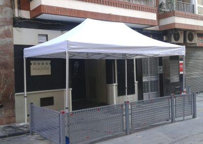 Carpas para terrazas de Cafeterías