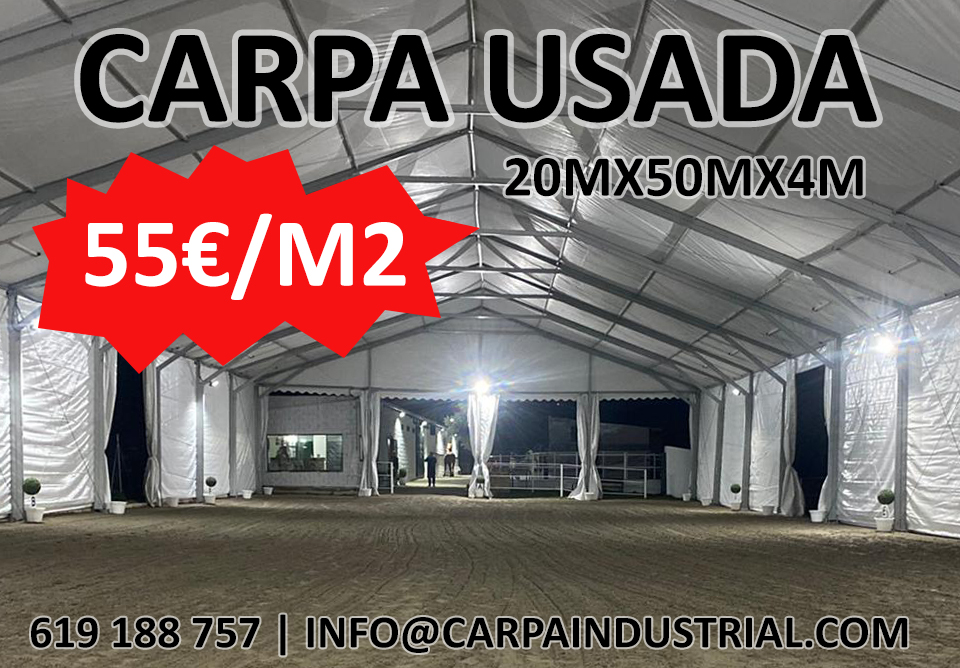 CARPA USADA 20X50X4